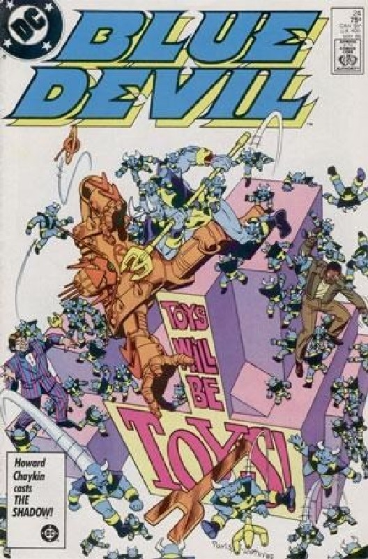 Cover of Blue Devil (Vol 1) #24. One of 250,000 Vintage American Comics on sale from Krypton!