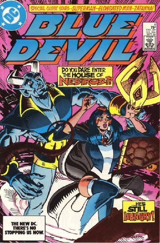 Cover of Blue Devil (Vol 1) #4. One of 250,000 Vintage American Comics on sale from Krypton!