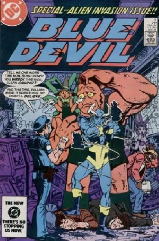 Cover of Blue Devil (Vol 1) #6. One of 250,000 Vintage American Comics on sale from Krypton!