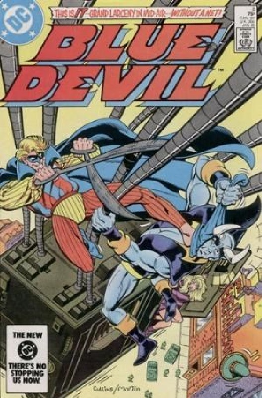 Cover of Blue Devil (Vol 1) #8. One of 250,000 Vintage American Comics on sale from Krypton!