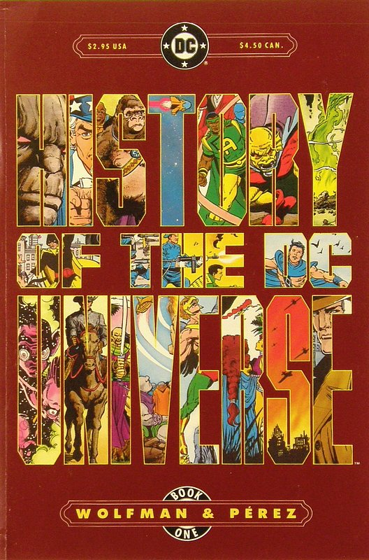 Cover of History of the DC Universe (1986 Ltd) #1. One of 250,000 Vintage American Comics on sale from Krypton!