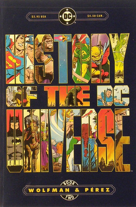 Cover of History of the DC Universe (1986 Ltd) #2. One of 250,000 Vintage American Comics on sale from Krypton!