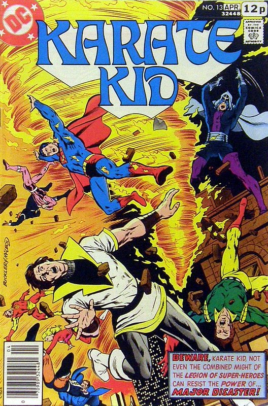 Cover of Karate Kid (Vol 1) #13. One of 250,000 Vintage American Comics on sale from Krypton!