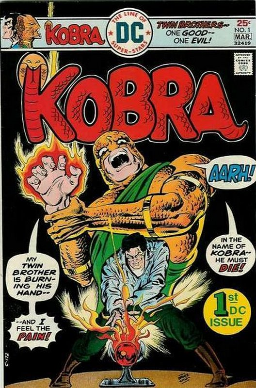 Cover of Kobra (Vol 1) #1. One of 250,000 Vintage American Comics on sale from Krypton!