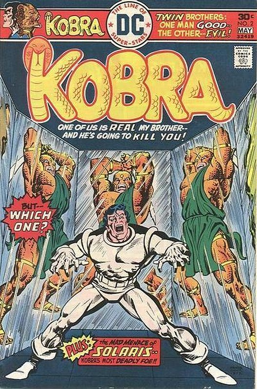 Cover of Kobra (Vol 1) #2. One of 250,000 Vintage American Comics on sale from Krypton!