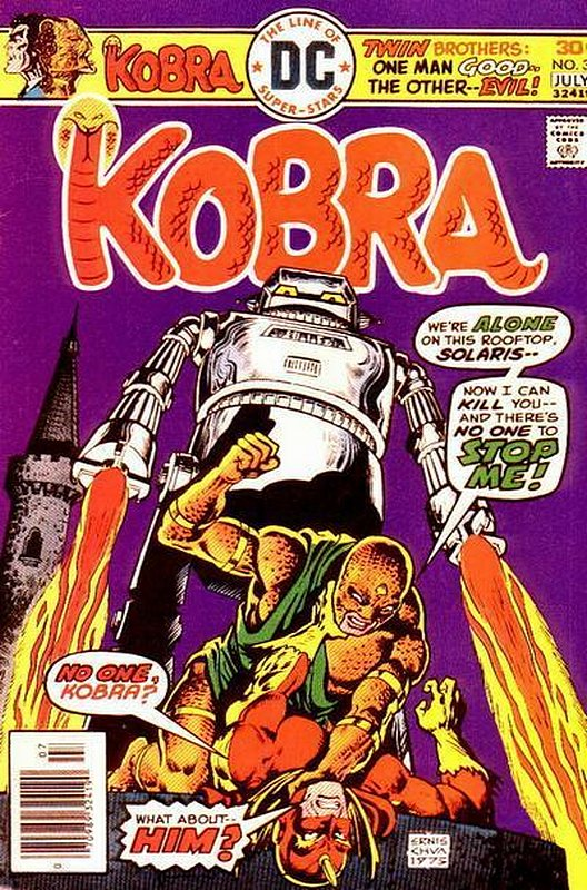 Cover of Kobra (Vol 1) #3. One of 250,000 Vintage American Comics on sale from Krypton!