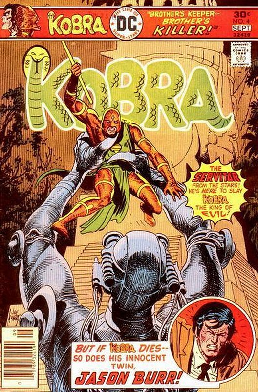 Cover of Kobra (Vol 1) #4. One of 250,000 Vintage American Comics on sale from Krypton!