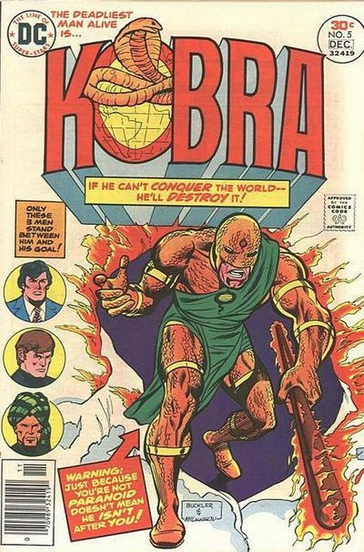 Cover of Kobra (Vol 1) #5. One of 250,000 Vintage American Comics on sale from Krypton!