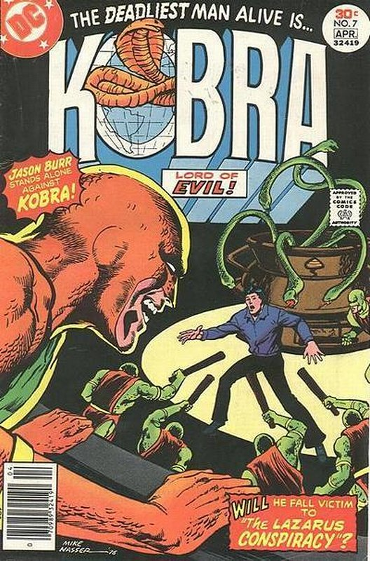 Cover of Kobra (Vol 1) #7. One of 250,000 Vintage American Comics on sale from Krypton!