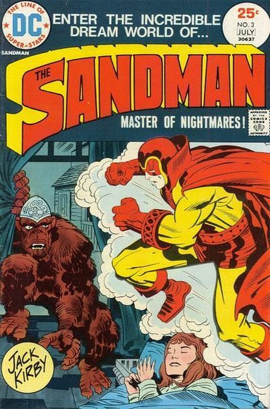 Cover of Sandman (Vol 1) #3. One of 250,000 Vintage American Comics on sale from Krypton!