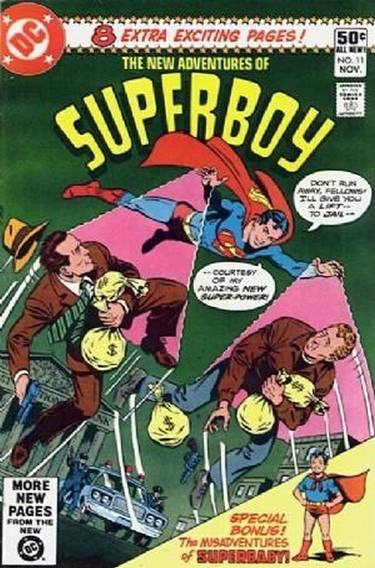 Cover of Superboy, The New Adventures of #11. One of 250,000 Vintage American Comics on sale from Krypton!
