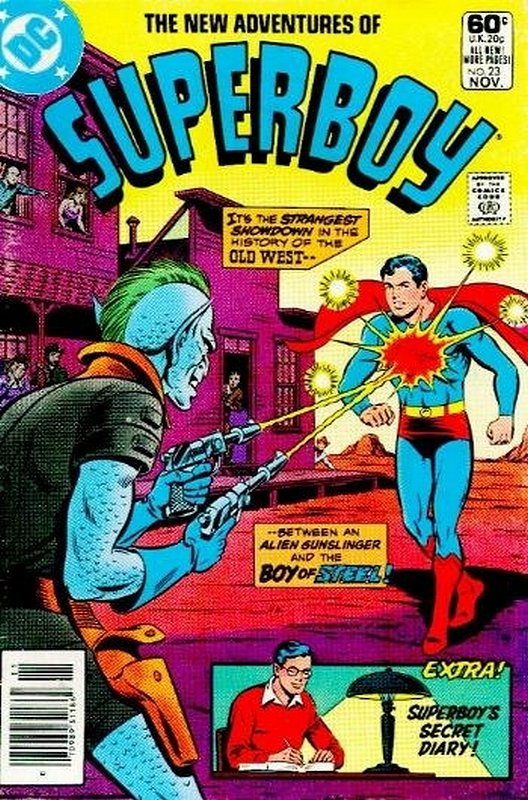 Cover of Superboy, The New Adventures of #23. One of 250,000 Vintage American Comics on sale from Krypton!