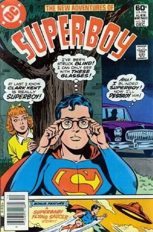 Cover of Superboy, The New Adventures of #24. One of 250,000 Vintage American Comics on sale from Krypton!