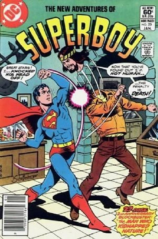 Cover of Superboy, The New Adventures of #25. One of 250,000 Vintage American Comics on sale from Krypton!