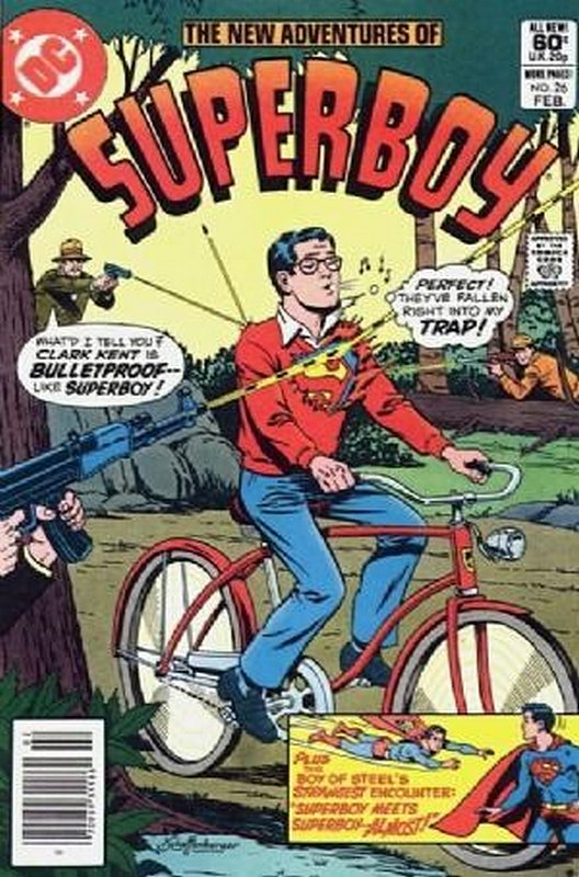 Cover of Superboy, The New Adventures of #26. One of 250,000 Vintage American Comics on sale from Krypton!