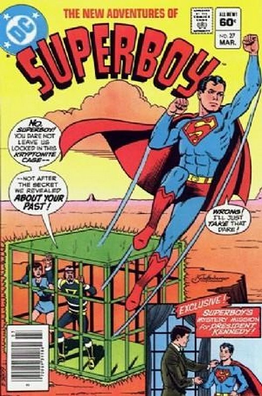 Cover of Superboy, The New Adventures of #27. One of 250,000 Vintage American Comics on sale from Krypton!