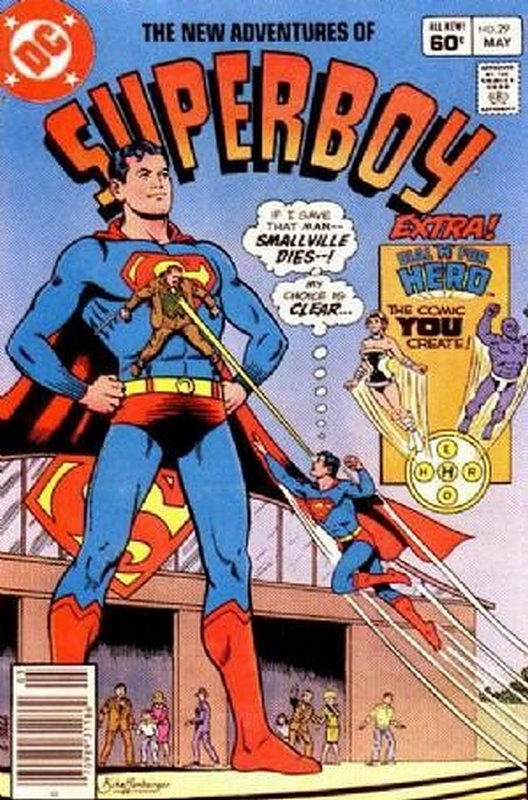 Cover of Superboy, The New Adventures of #29. One of 250,000 Vintage American Comics on sale from Krypton!