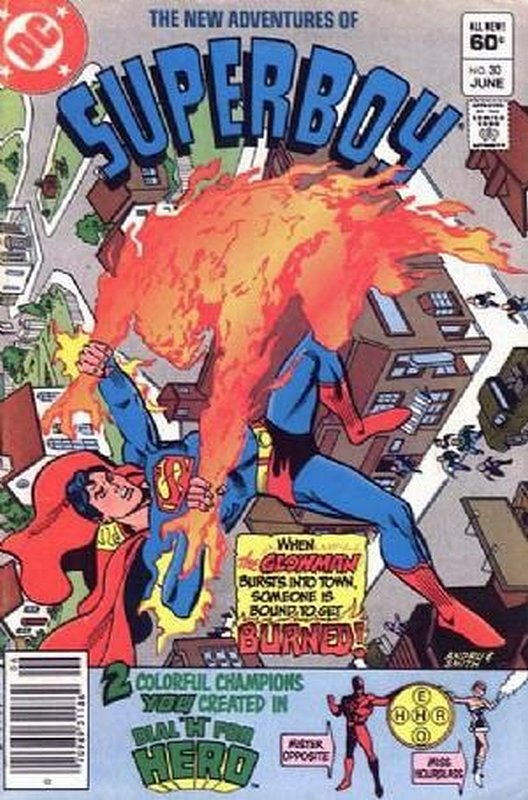 Cover of Superboy, The New Adventures of #30. One of 250,000 Vintage American Comics on sale from Krypton!