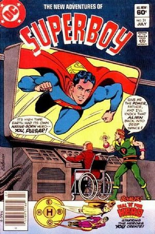 Cover of Superboy, The New Adventures of #31. One of 250,000 Vintage American Comics on sale from Krypton!