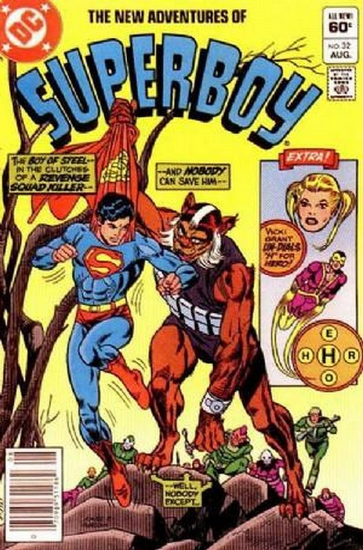 Cover of Superboy, The New Adventures of #32. One of 250,000 Vintage American Comics on sale from Krypton!