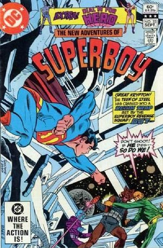 Cover of Superboy, The New Adventures of #33. One of 250,000 Vintage American Comics on sale from Krypton!