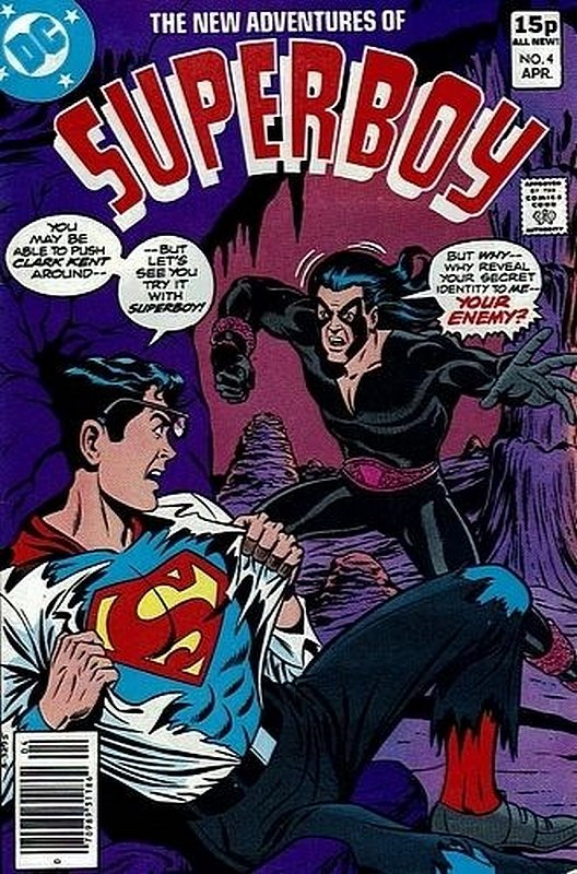 Cover of Superboy, The New Adventures of #4. One of 250,000 Vintage American Comics on sale from Krypton!