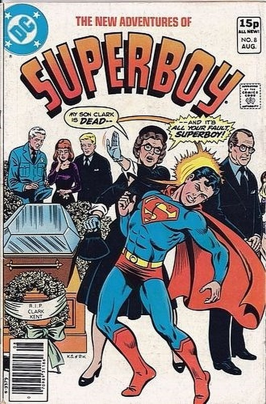 Cover of Superboy, The New Adventures of #8. One of 250,000 Vintage American Comics on sale from Krypton!