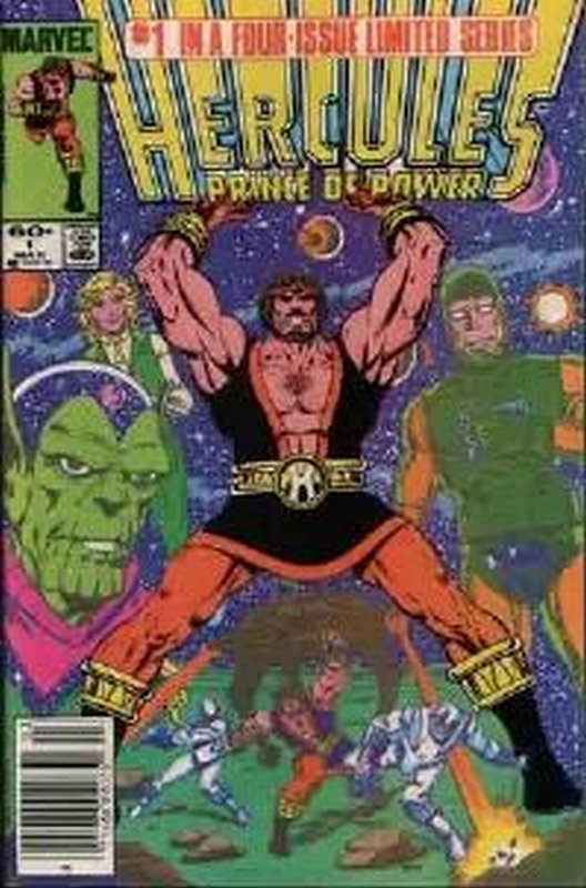 Cover of Hercules, Prince of Power (Vol 2) #1. One of 250,000 Vintage American Comics on sale from Krypton!