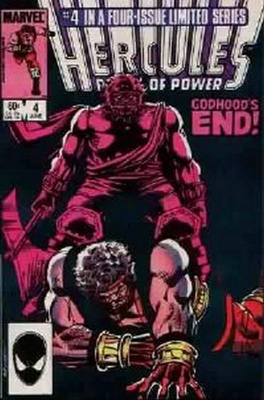 Cover of Hercules, Prince of Power (Vol 2) #4. One of 250,000 Vintage American Comics on sale from Krypton!