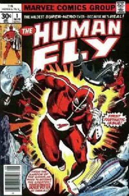 Cover of Human Fly (Vol 1) #1. One of 250,000 Vintage American Comics on sale from Krypton!