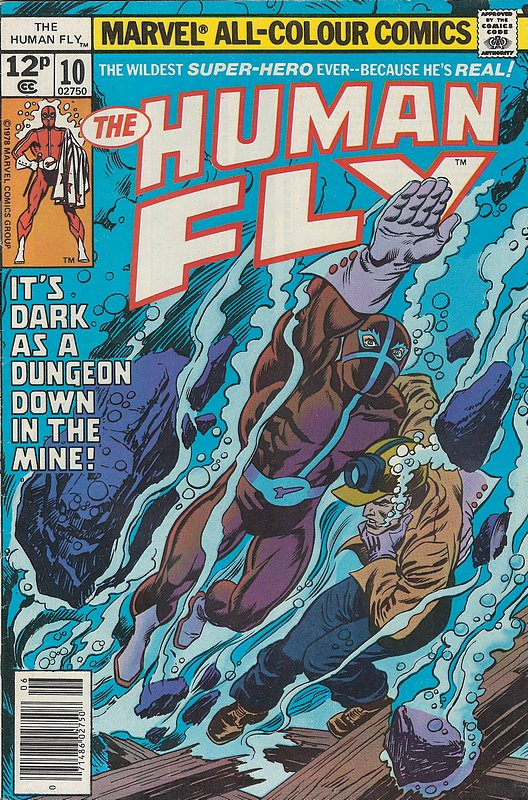 Cover of Human Fly (Vol 1) #10. One of 250,000 Vintage American Comics on sale from Krypton!