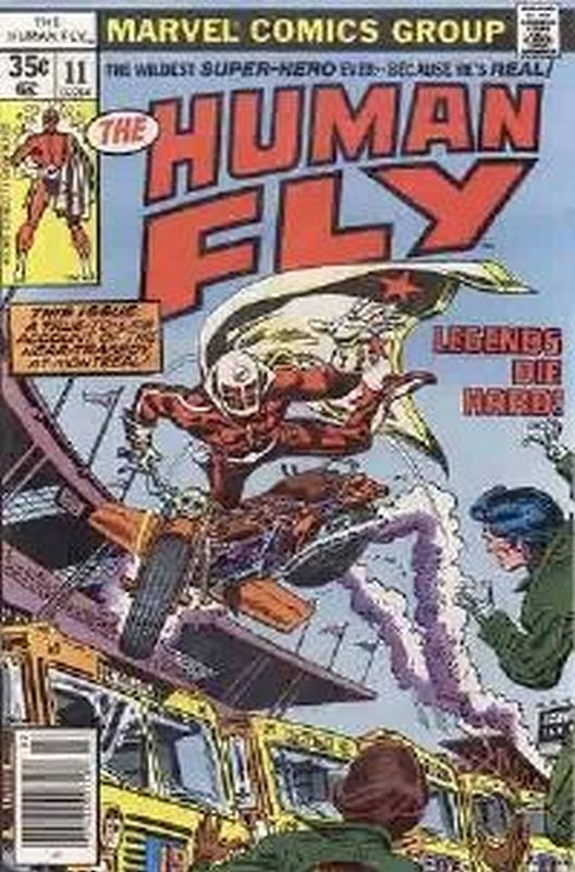 Cover of Human Fly (Vol 1) #11. One of 250,000 Vintage American Comics on sale from Krypton!