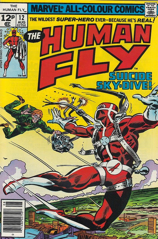 Cover of Human Fly (Vol 1) #12. One of 250,000 Vintage American Comics on sale from Krypton!