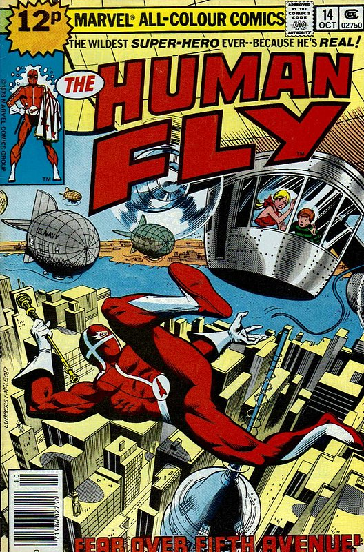 Cover of Human Fly (Vol 1) #14. One of 250,000 Vintage American Comics on sale from Krypton!