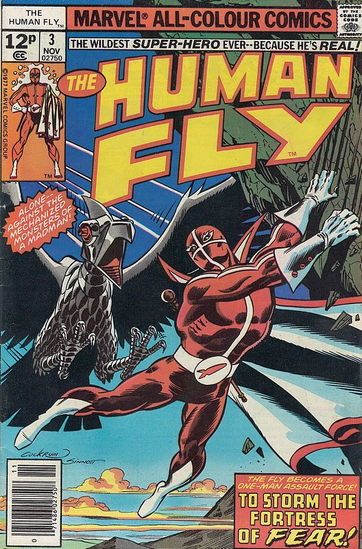Cover of Human Fly (Vol 1) #3. One of 250,000 Vintage American Comics on sale from Krypton!