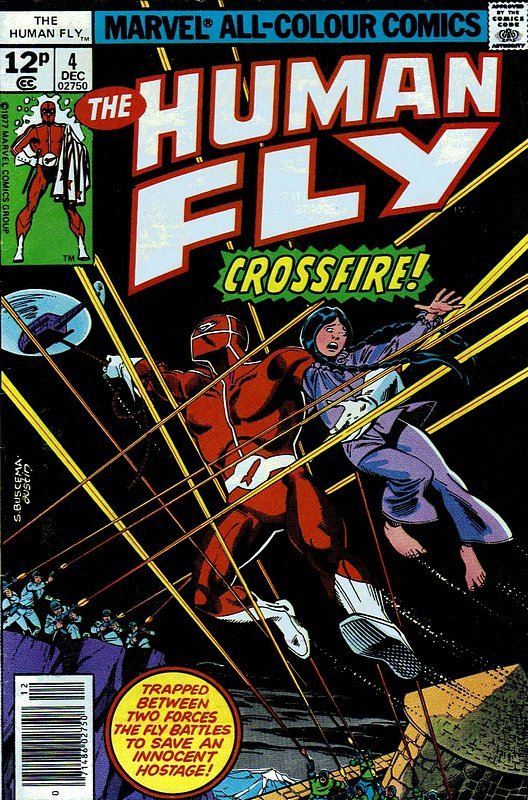 Cover of Human Fly (Vol 1) #4. One of 250,000 Vintage American Comics on sale from Krypton!