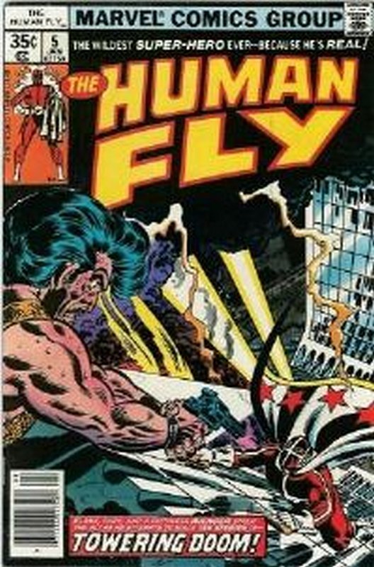 Cover of Human Fly (Vol 1) #5. One of 250,000 Vintage American Comics on sale from Krypton!