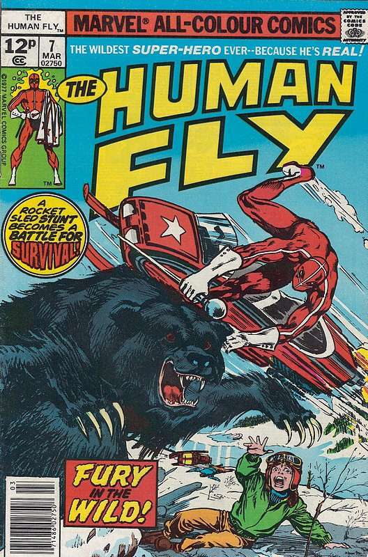 Cover of Human Fly (Vol 1) #7. One of 250,000 Vintage American Comics on sale from Krypton!