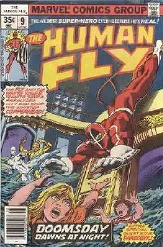 Cover of Human Fly (Vol 1) #9. One of 250,000 Vintage American Comics on sale from Krypton!