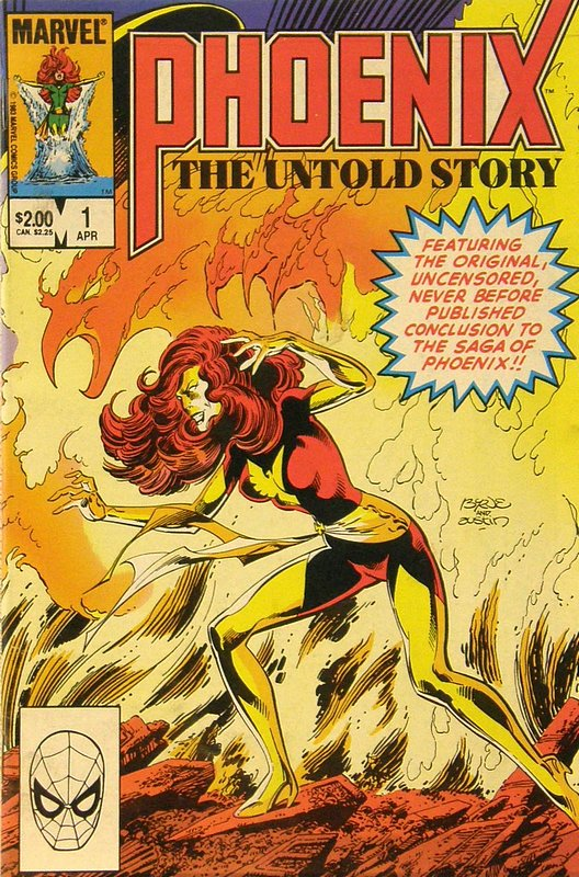 Cover of Phoenix: The Untold Story (1984 One Shot) #1. One of 250,000 Vintage American Comics on sale from Krypton!