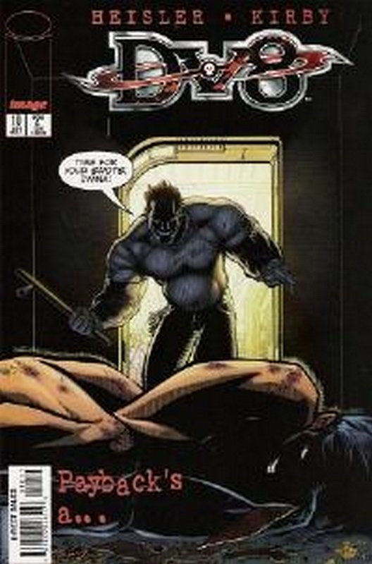 Cover of DV8 (Vol 1) #10. One of 250,000 Vintage American Comics on sale from Krypton!