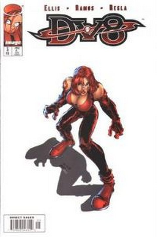 Cover of DV8 (Vol 1) #5. One of 250,000 Vintage American Comics on sale from Krypton!