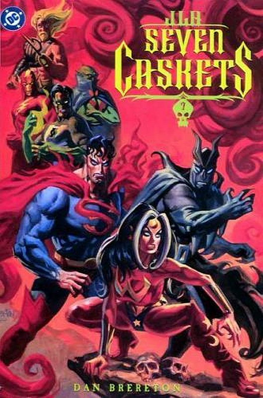 Cover of JLA: Seven Caskets (2000 One Shot) #1. One of 250,000 Vintage American Comics on sale from Krypton!
