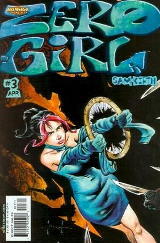 Cover of Zero Girl (2000 Ltd) #3. One of 250,000 Vintage American Comics on sale from Krypton!