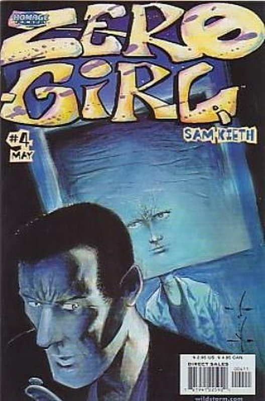 Cover of Zero Girl (2000 Ltd) #4. One of 250,000 Vintage American Comics on sale from Krypton!