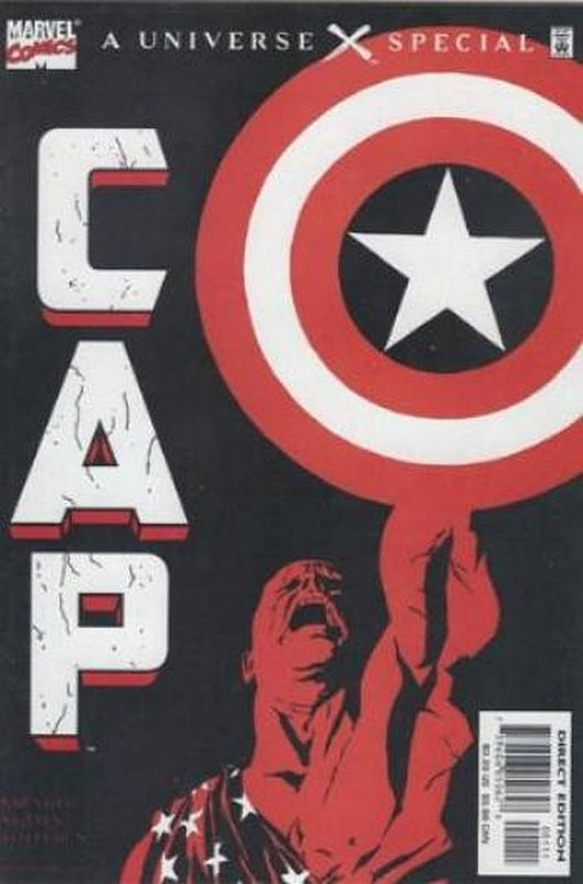 Cover of Universe X Special: Cap A #1. One of 250,000 Vintage American Comics on sale from Krypton!
