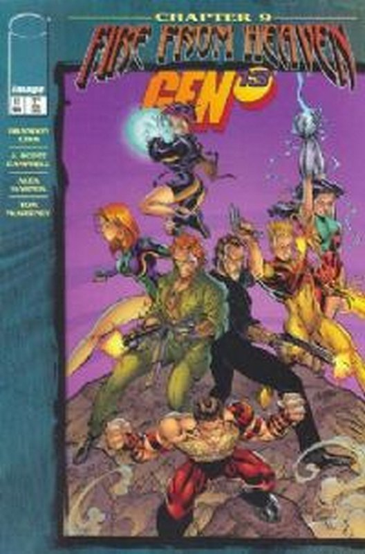 Cover of Gen 13 (Vol 1) #11. One of 250,000 Vintage American Comics on sale from Krypton!