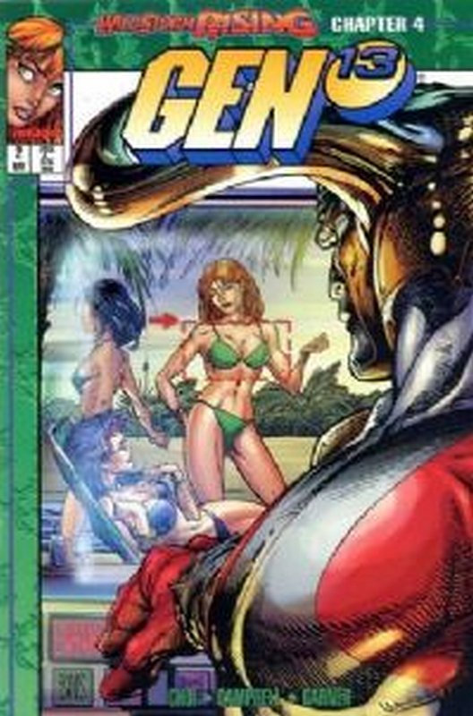 Cover of Gen 13 (Vol 1) #2. One of 250,000 Vintage American Comics on sale from Krypton!