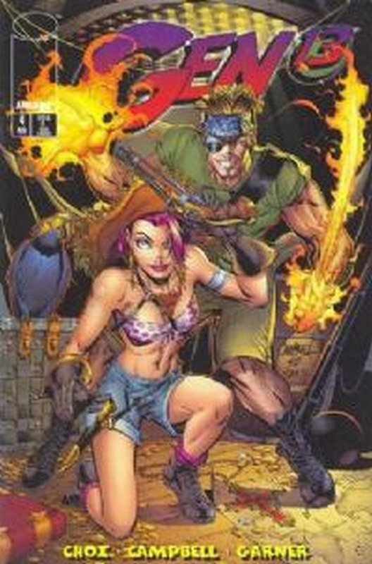 Cover of Gen 13 (Vol 1) #4. One of 250,000 Vintage American Comics on sale from Krypton!