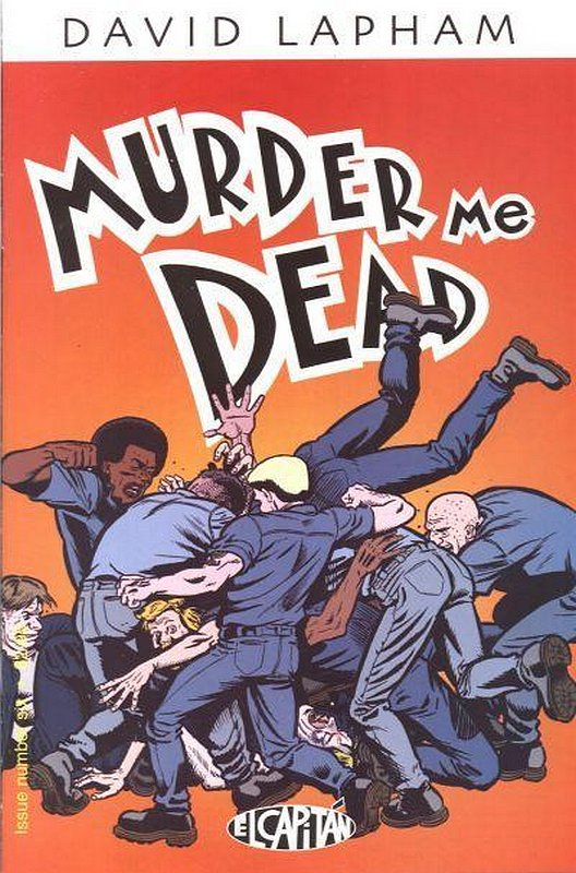 Cover of Murder Me Dead (Vol 1) #6. One of 250,000 Vintage American Comics on sale from Krypton!